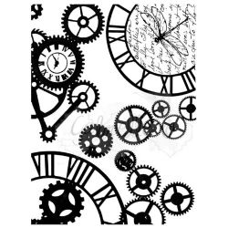 "49 & Market Clear Stamps 3""X4"" - Steampunk Stylin"